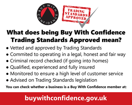 Trading Standards 'Buy With Confidence' scheme